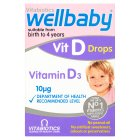 Wellbaby Vitamin D Drops - 30ml