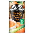 Heinz Farmers Market slow cooked lamb with root vegetable soup - 400g