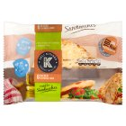 Deli Kitchen Seeded Flatbread Thins - 6s