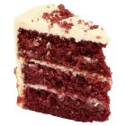 Waitrose Red velvet cake slice - each