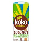 Koko dairy free original + calcium coconut milk - 1litre Brand Price Match - Checked Tesco.com 04/12/2013
