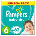 Pampers Baby-Dry 6 15+kg - 64s