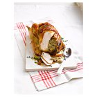 Free Range Bronze Feathered Turkey with Pork, Chestnut and Apple Stuffing -