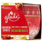 Glade Candle Apple & Cinnamon - 120g