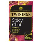 Twinings spicy chai 20 envelopes - 50g