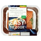 Easy to Cook salmon loin with spincah & ricotta - 400g