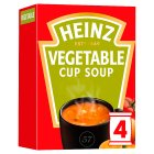 Heinz vegetable cup soup - 4x17g