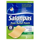 Salonpas pain relief patch - 3s