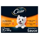 Cesar favourites in sauce - 8x100g
