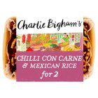 Charlie Bigham's chilli con carne & mexican rice - 840g