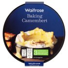 Waitrose baking French camembert cheese (medium) - 250g