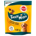 Pedigree Tasty Bites Chewy Cubes Chicken - 130g