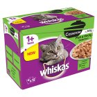 Whiskas 1+ Casserole in Jelly Fish & Meaty Selection - 12x85g