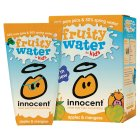 Innocent fruity water for kids apples & mangoes - 4x180ml Brand Price Match - Checked Tesco.com 04/12/2013