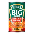 Heinz Big Soup Angus steak & onion - 500g Brand Price Match - Checked Tesco.com 02/12/2013