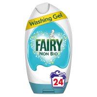 Fairy Non-Bio Washing Gel Detergent 24 washes