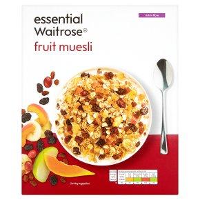 Essential Waitrose - Fruit Muesli