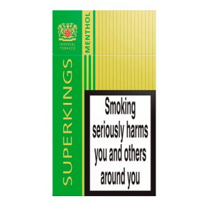 Superkings menthol cigarettes
