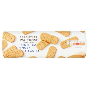 essential Waitrose rich tea finger biscuits