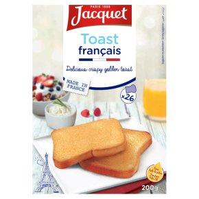 Jacquet toast francais