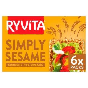 Ryvita crispbread with sesame seed