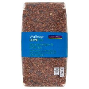 Waitrose Love life red camargue & wild rice