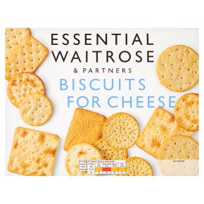 essential Waitrose biscuits for cheese