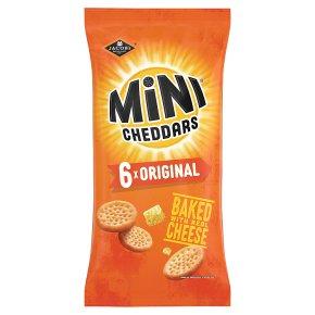 Jacob's Mini Cheddars Original 6s