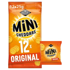 Jacob's mini cheddars original 12s