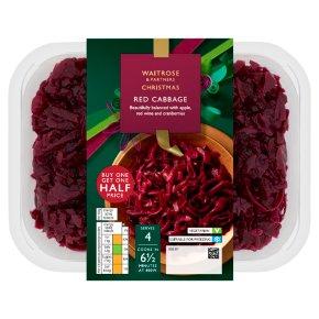 Waitrose Christmas red cabbage