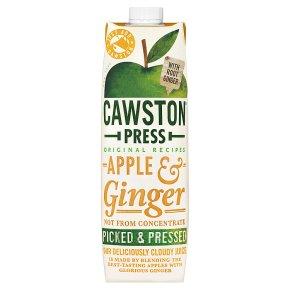 Cawston Press pressed apple & ginger juice
