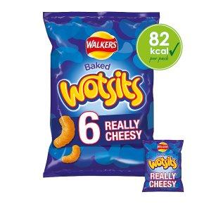Walkers Wotsits really cheesy multipack crisps