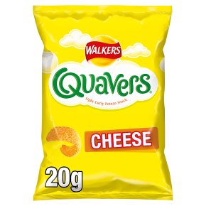 Walkers Quavers cheese crisps