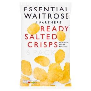 essential Waitrose ready salted crisps