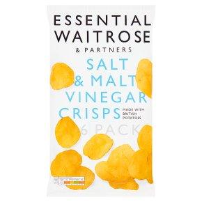 Essential Salt & Malt Vinegar Crisps