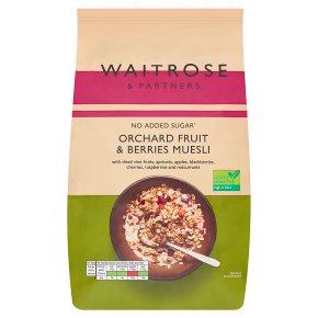 Waitrose muesli fruits & berries