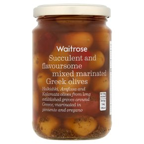 Waitrose mixed marinated olives