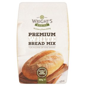 Wright's bread mix premium white