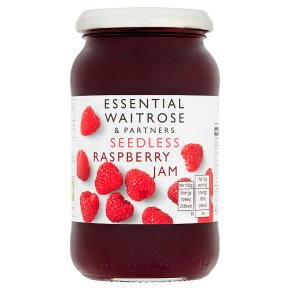 Essential Waitrose seedless raspberry jam