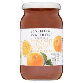 Essential Waitrose thick cut seville orange marmalade