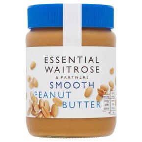 Essential Waitrose smooth peanut butter