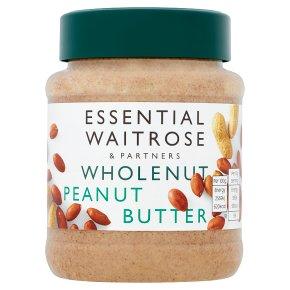 essential Waitrose wholenut peanut butter