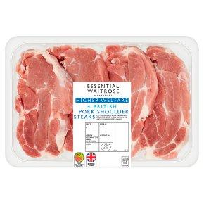 Essential British Pork 4 Shoulder Steaks