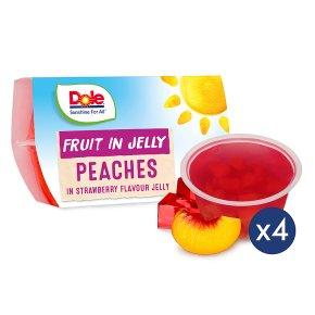 Dole Fruit & Jelly - Peach