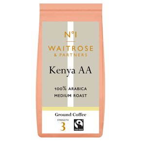 Waitrose 1 Kenya AA 100% Arabica coffee beans