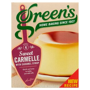 Green's Carmelle Vanilla Dessert with Caramel Syrup