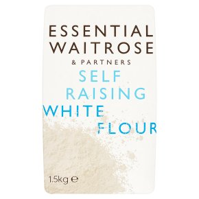 essential Waitrose self-raising white wheat flour