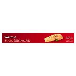 essential Waitrose aluminium foil, 30cm by 20m