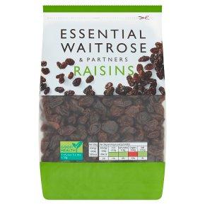 essential Waitrose raisins