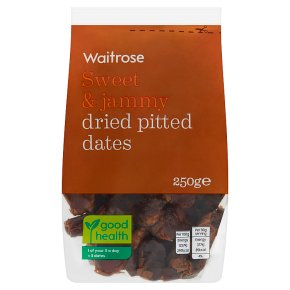 Waitrose dried pitted dates